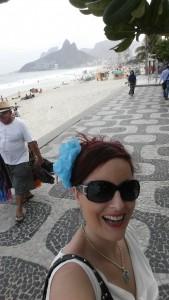 Inga på Ipanema stranden i Rio de Janeiro