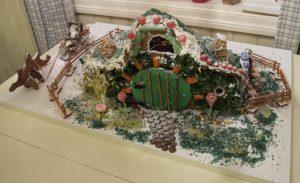 Pepperkake-Hobbithus fra et tidligere år