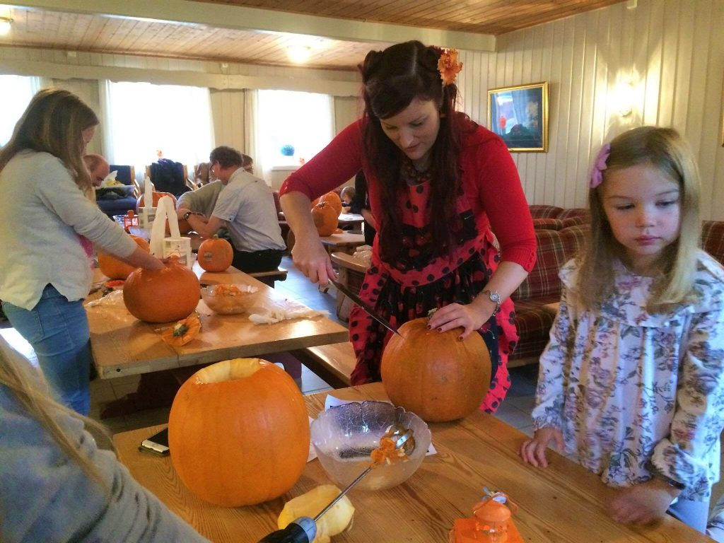 From my pumpkin carving workshop for the Association of Children with Heart Disorders.