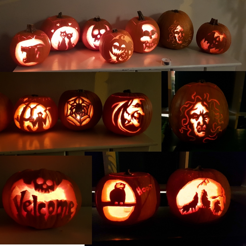 Pumpkin carving workshop in Kristiansund